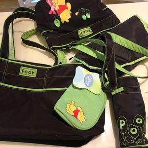 NWT 5 Piece Diaper Bag Set